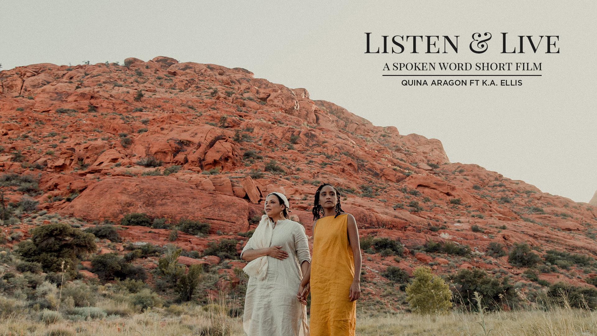 Listen & Live Spoken Word Short Film Premiere