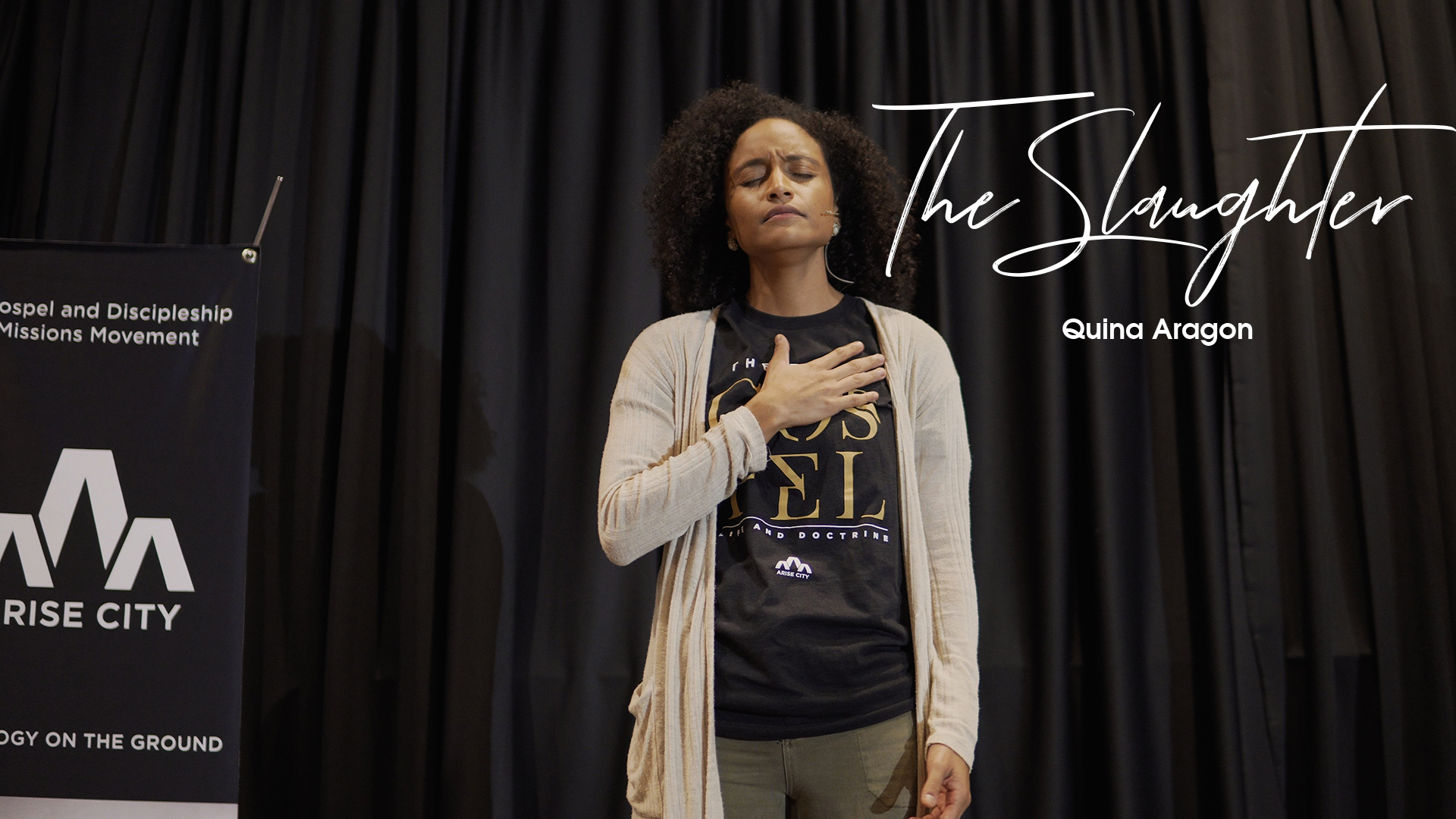 The Slaughter (LIVE Spoken Word) & Helping Immigrant Families